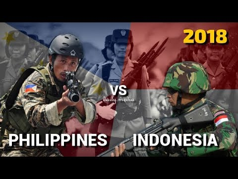 Philippines Vs Indonesia - Military Power Comparison 2018