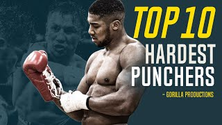 Top 10 Hardest Punchers In Boxing (circa 2020) | GPboxing