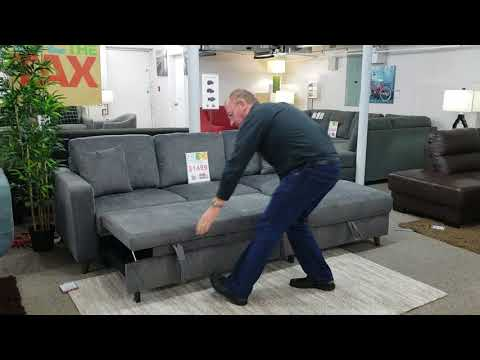 AVRIL SECTIONAL SOFA BED WITH STORAGE