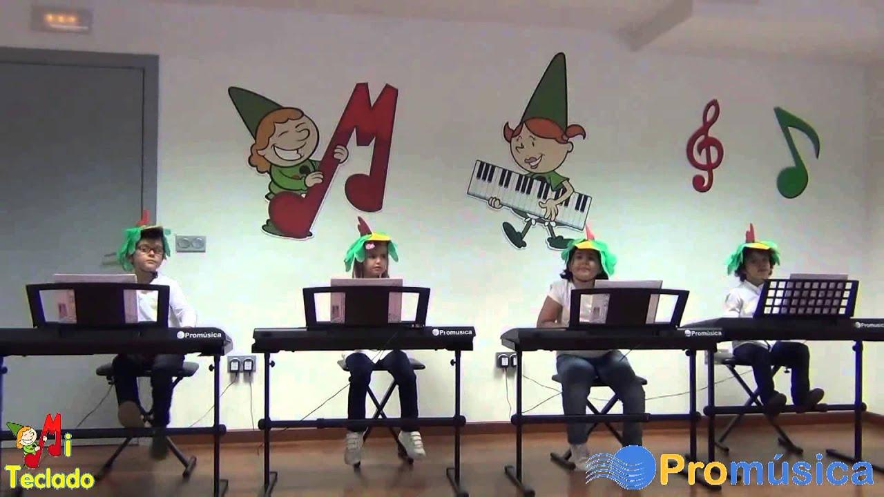 Papageno y Papagena - Grupo de alumnos de Mi Teclado 1