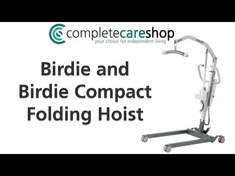Video of the Birdie Hoist and the ease of folding