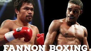 ERROL SPENCE WILL BEAT PACQUIAO SAYS ROACH |  CRAWFORD AND ERROL SAME LEVEL AS MANNY AND FLOYD