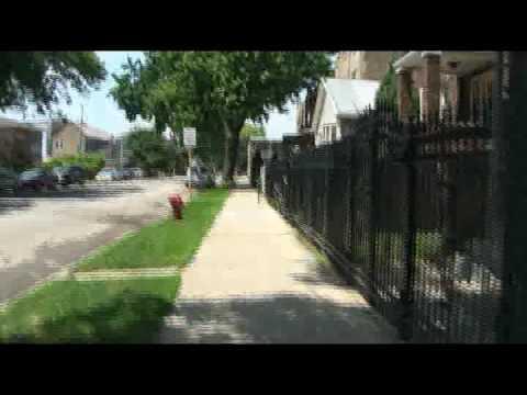 Walking the block by Bridgeport Condominiums