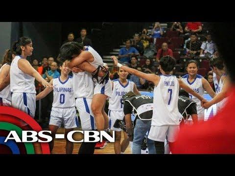 SEA Games: Gilas Women gumawa ng kasaysayan matapos maka-gold medal | Bandila