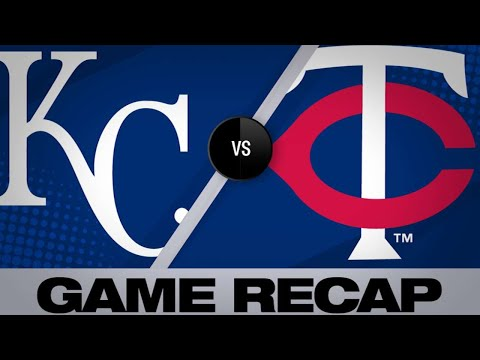 Garver's go-ahead home run lfits Twins | Royals-Twins Game Highlights 6/14/19