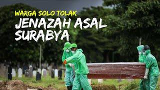 Jenazah asal Zona Merah Surabaya Ditolak Warga Solo, Wali Kota Solo: Golek Molo