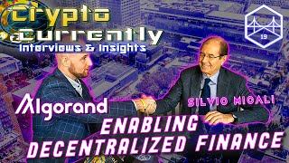 How to build a better Blockchain - Silvio Micali - Founder of Algorand!