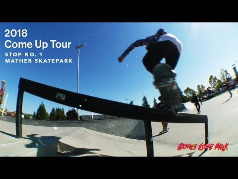 Transworld Skateboarding's 2018 Come Up Tour | Stop 1 | Mather Skatepark (Sacramento)