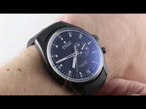 Zenith El Primero Retrotimer Chronograph 75.2030.4055/21.R580 Luxury Watch Review