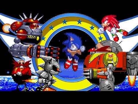 Top 5 Classic Sonic Boss Battles - SonScotty