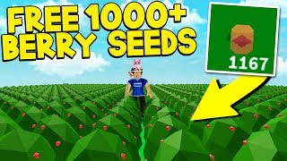 SECRET WAY To Get 1000 FREE Berry Seeds In Roblox Skyblock! *INSANE METHOD!*