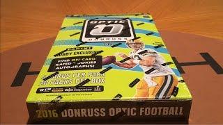 2016 Panini Donruss Optic Football Hobby Box Break!