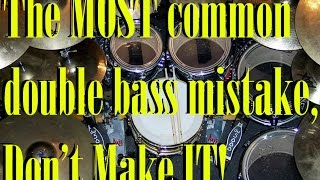 The Most Common Double Bass Mistake Explained