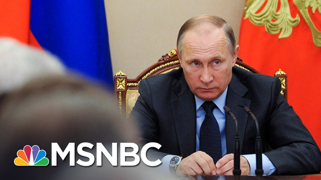 Vladimir Putin Rejects Retaliation Calls Over Hacking Sanctions | MSNBC thumbnail