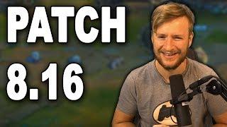 Patchnotes-Rundown 8.16 | Tank Buffs ?! [Deutsch]