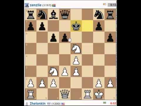 Разгром в дебюте - урок шахмат. Как разгромить соперника в дебюте