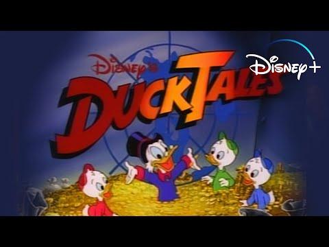 Video trailer för DuckTales - Theme Song | Disney+ Throwbacks | Disney+