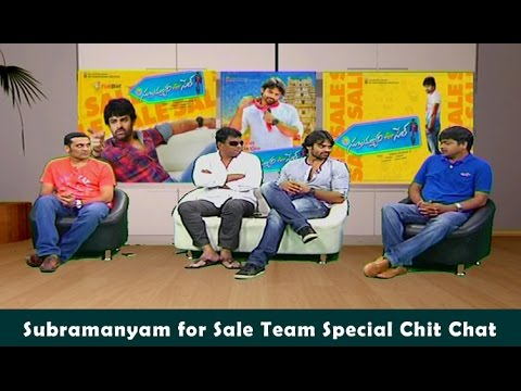 Subramanyam For Sale Movie Team Interview