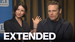 Caitriona Balfe, Sam Heughan Preview 'Outlander' Season 5 | EXTENDED