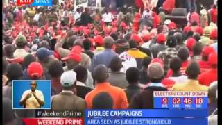 Jubilee campaigns in Kericho County