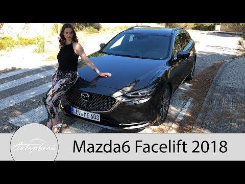 2018 Mazda6 Kombi Skyactiv-G 165 Sports-Line (inkl. Plus-Paket) Fahrbericht  - Autophorie