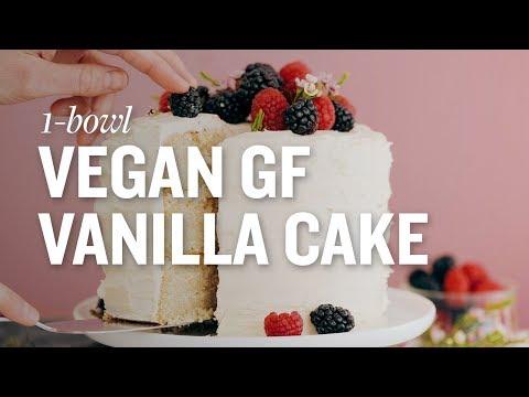 Vegan Vanilla Cake   Minimalist Baker