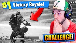 WINNING Fortnite: Battle Royale... With NO COLOUR!?