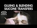 Silicone Transfer Makeup: Plastic Wrap