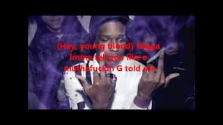 Keep It G by A$AP Rocky feat Chace Infinite and Spaceghostpurpp LYRICS