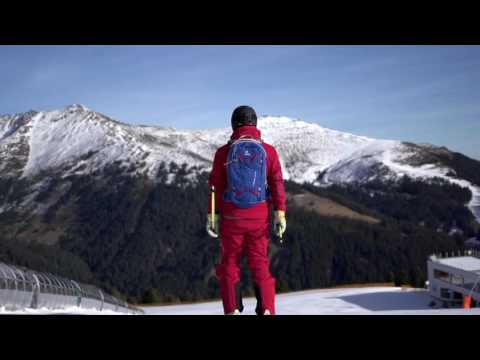 Видео о Рюкзак Deuter Freerider Lite 25 цвет 7303 black-bay 3303017 7303