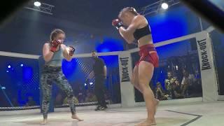 Tetiana Vozniuk vs Olga Rubin KNO world Tour Israel. 66kg (3 round)