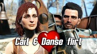 Fallout 4 - Cait & Paladin Danse flirt