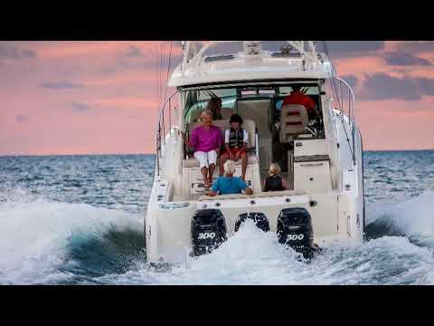 Boston Whaler 345 Conquest video