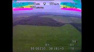 21.5/43km Quadcopter FPV Flight - New world record