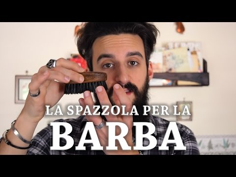 La spazzola per la barba: quale scegliere e come pulirla || The beard brush [ENG. SUBS]
