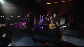 U2 - Get On Your Boots Live Letterman 5th Night [HD - High Quality]