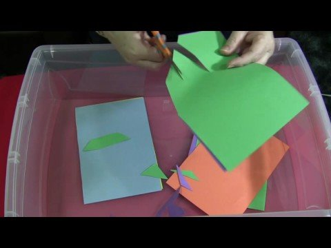 Screenshot of video: Beginning scissor skills