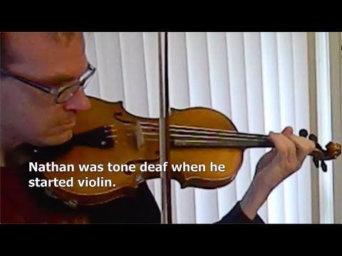 Nathan's story learning violin