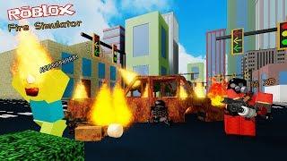 Roblox : Fire Simulator จำลองการเผาบ้านเมืองให้กลายเป็นเถ้าธุลี