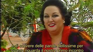 Freddie Mercury e Montserrat Caballé - Intervista Ibiza 1987 (Sottotitoli in Italiano)