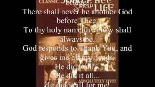 Thank You Lord (He Did It All) By The New Life Community Choir Featuring Pastor John P. Kee