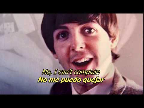 Getting better - The Beatles (LYRICS/LETRA) [Original]