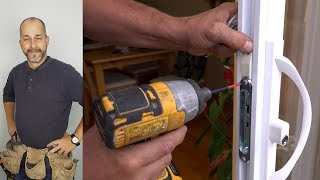 How To Replace A Patio Door Handle