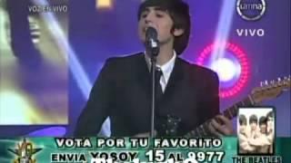 "Yo Soy 22-07-13 LOS BEATLES ""Rock & Roll Music"" Sorprende al Jurado [Yo Soy 2013]"