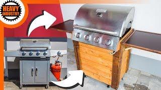 Barbecue (Gas) Grill aufarbeiten und selber bauen (Teil 1)