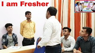mr job #interview #fresher : No #experience