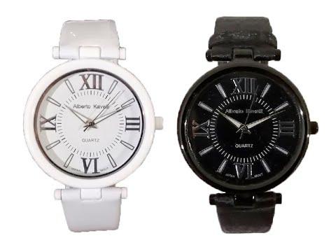 Видео обзор наручных часов Alberto Kavalli 08820А.5 чёрные и Alberto Kavalli 08820_3 белые