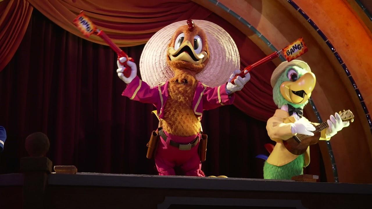 Restored Three Caballeros animatronics