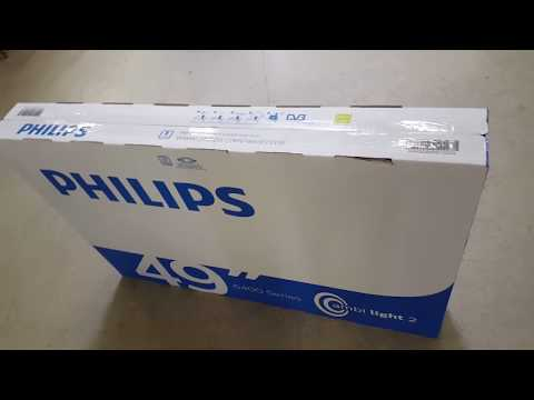 PHILIPS PUS6412 Android TV - Unboxing & Review (HDR)