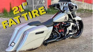 "New 2020 21"" Harley Street Glide Fat Tire Custom Bagger For Sale 54,000 (part 2)"